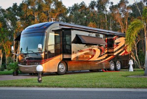 Rent a super luxury RV