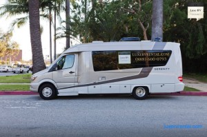 rent luxe rv los angeles or san francisco