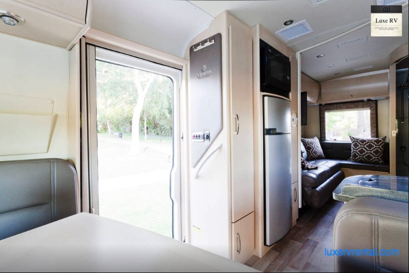 rent an rv in los angeles with lax rv rental pickup luxe rv