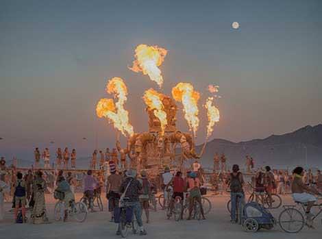 RV Rental for Burning Man event