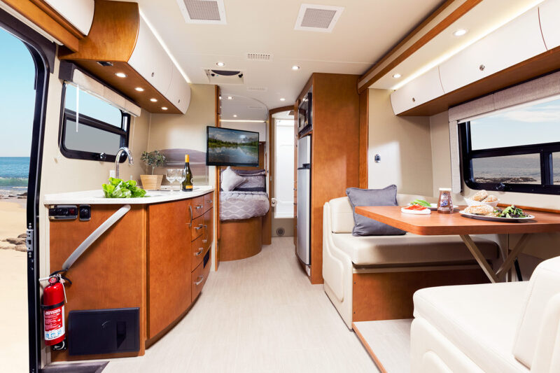 Rent Unity Rv From Leisure Van