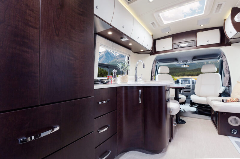 RV Rental Serenity from Luxe RV