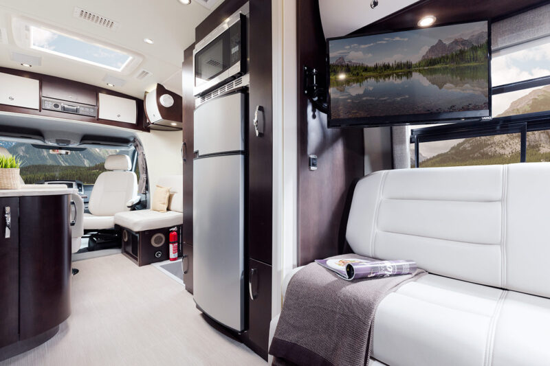 Rent RV Serenity Leisure Van from Luxe RV