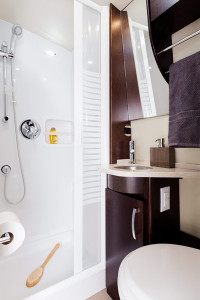 bathroom leisure serenity rv for rent