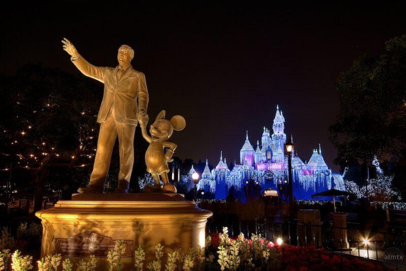 Rent an RV and Visit Disneyland