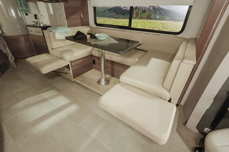 Vw Dinette Footrest 15 Luxe Rv