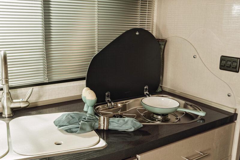 RV Mercedes kitchen