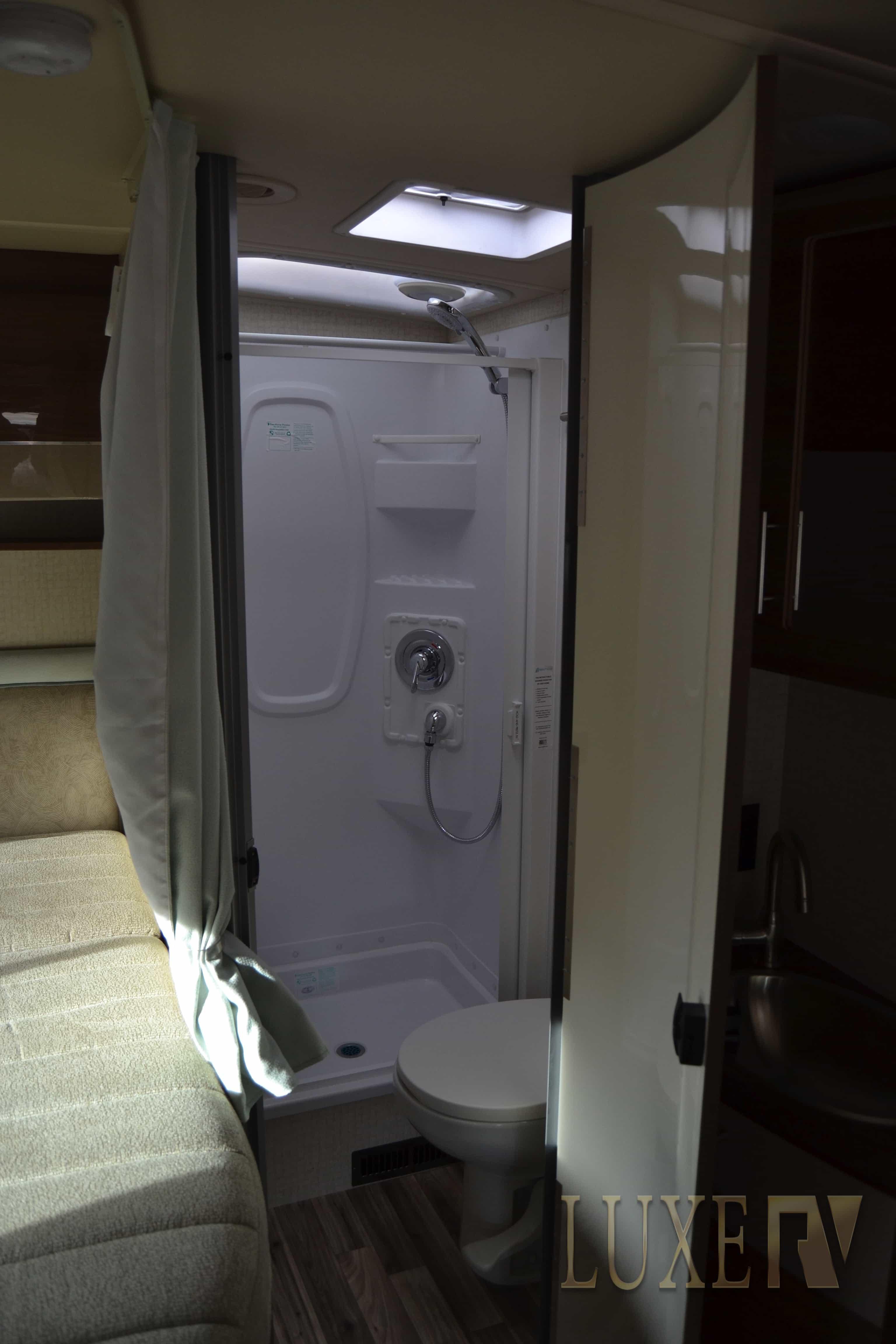 Full bathroom RVs for rent