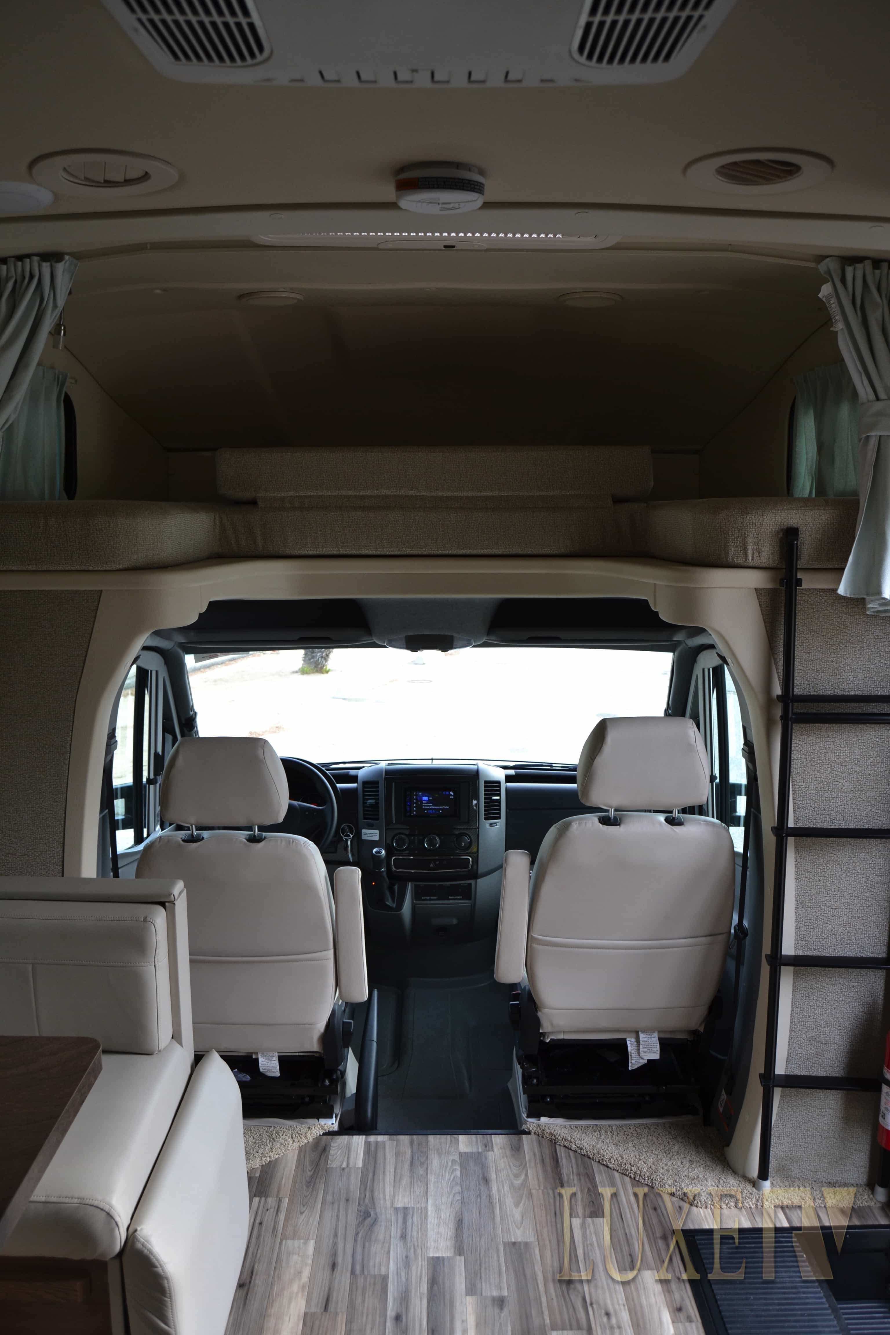 Mercedes RV for Rent Los Angeles