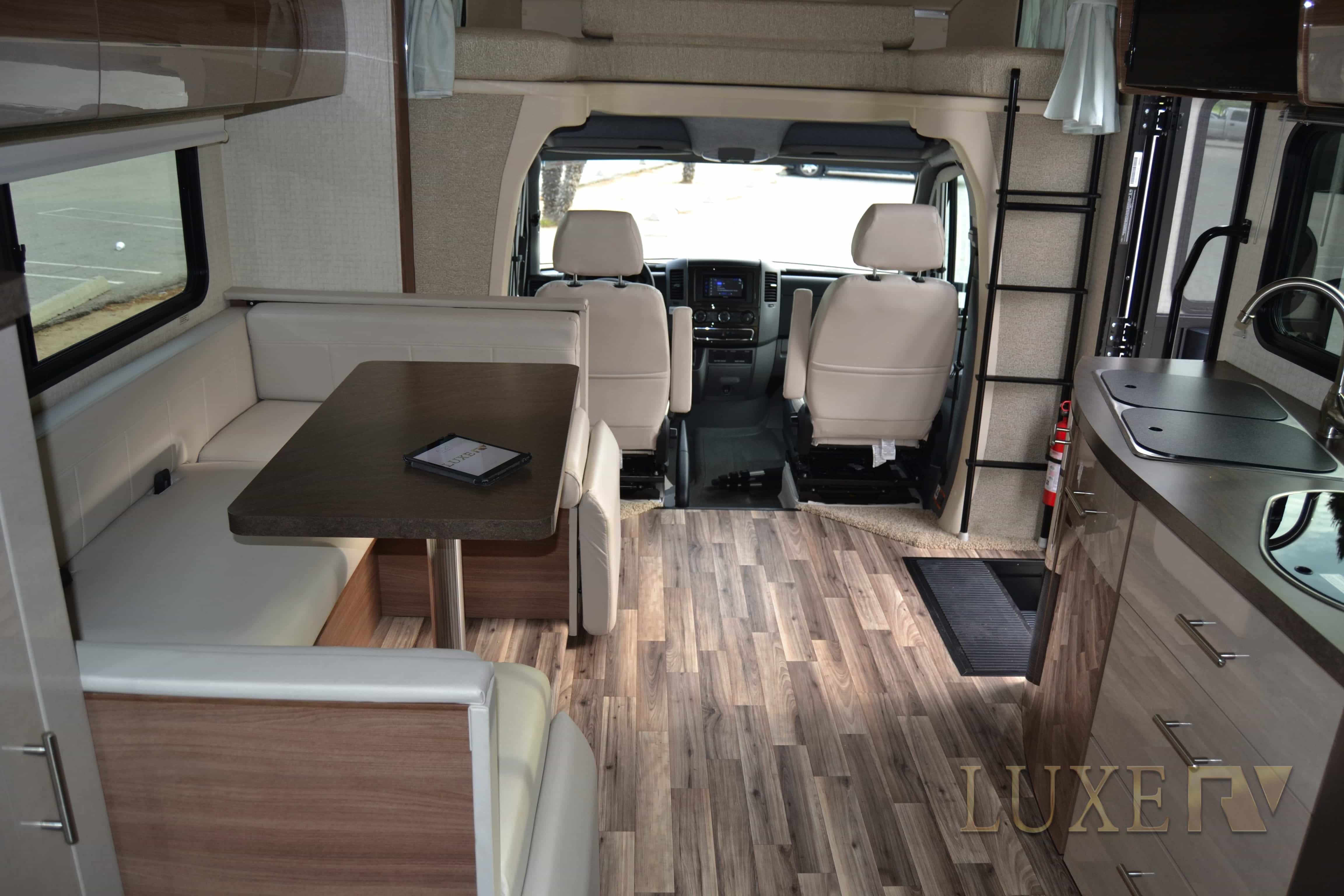 Mercedes RV for Rent Luxe RV