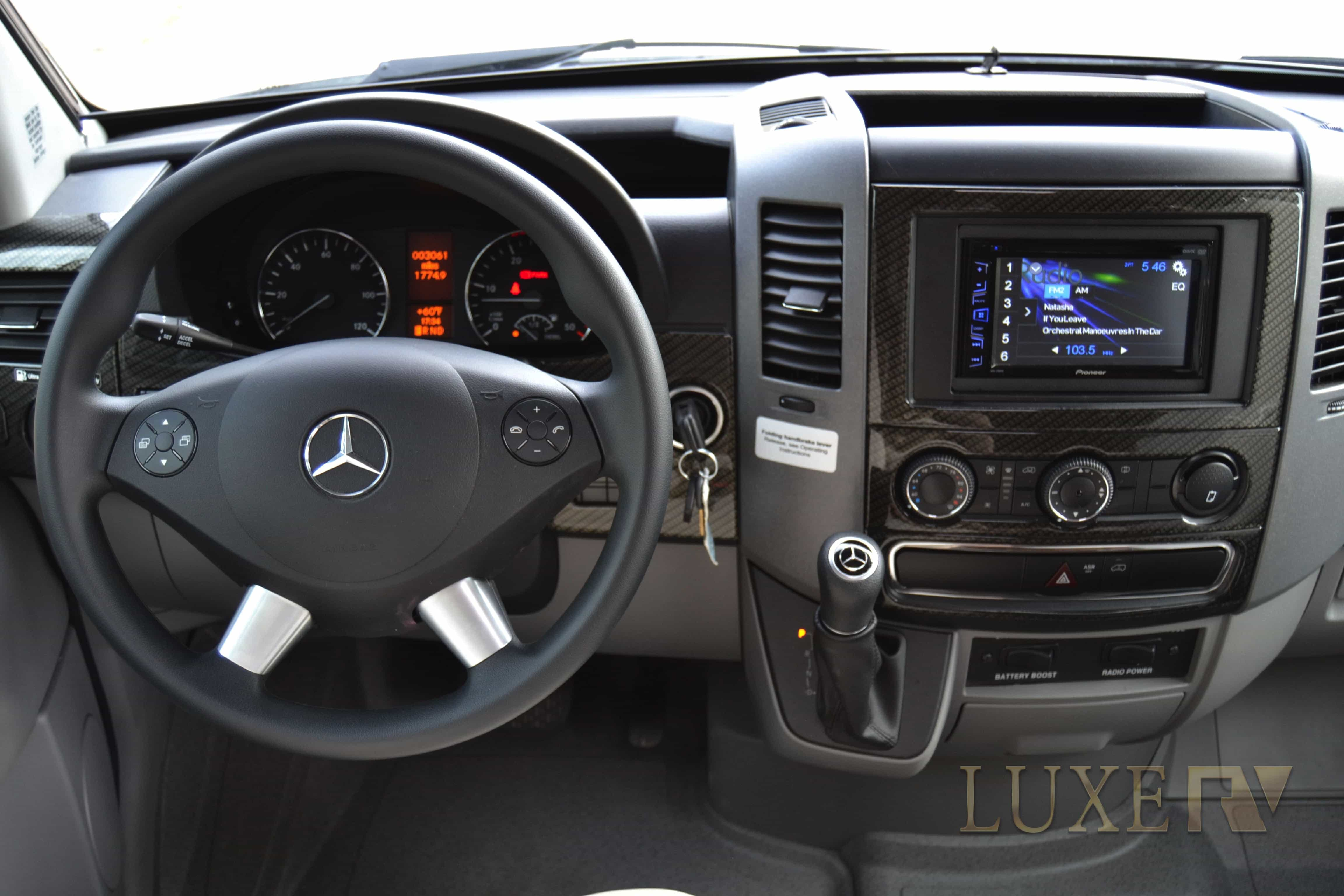 Mercedes RV for rent