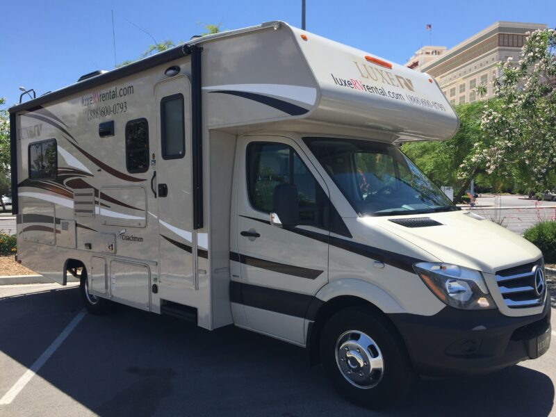rent an rv mercedes coachmen prism