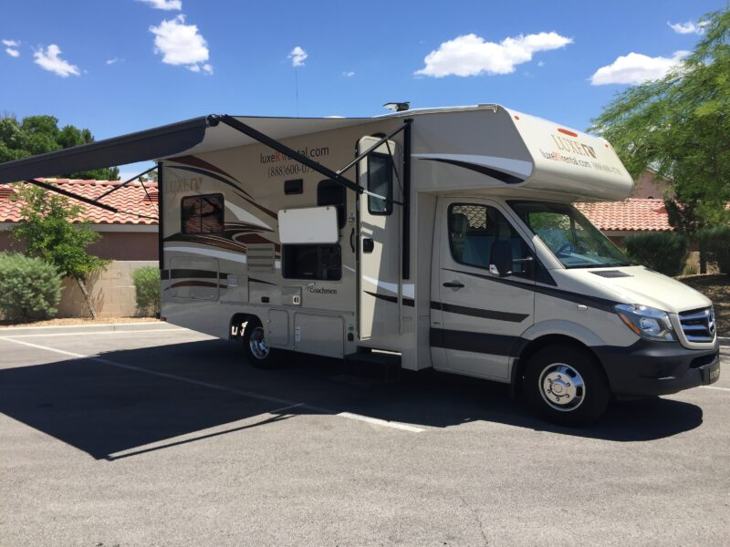 Mercedes RV Rental - Luxe RV 2