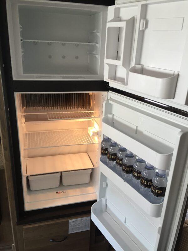 RV Rental refrigerator - Luxe RV 15