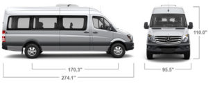 Mercedes Benz Sprinter for rent