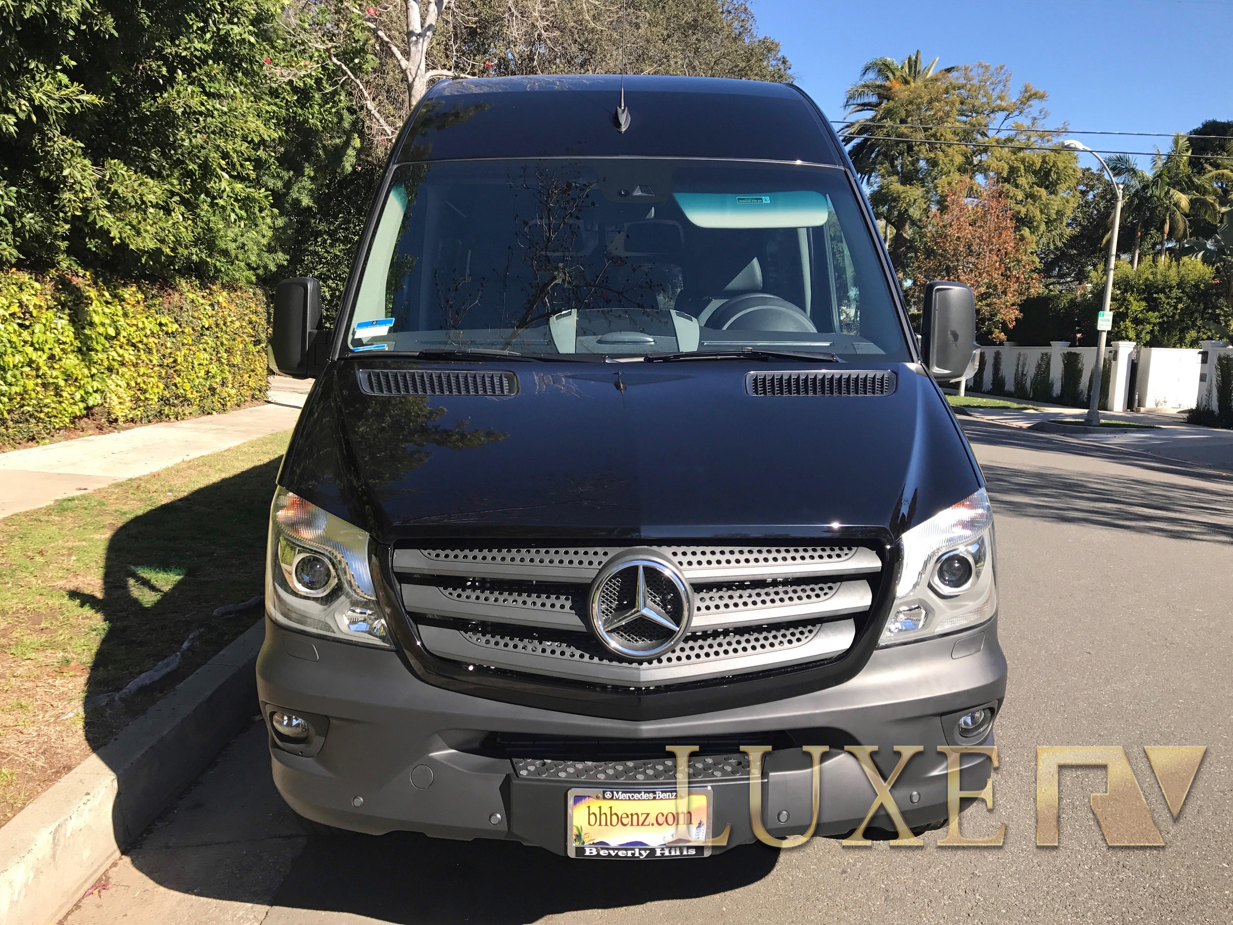 Mercedes Passenger Van for Rent Luxe RV