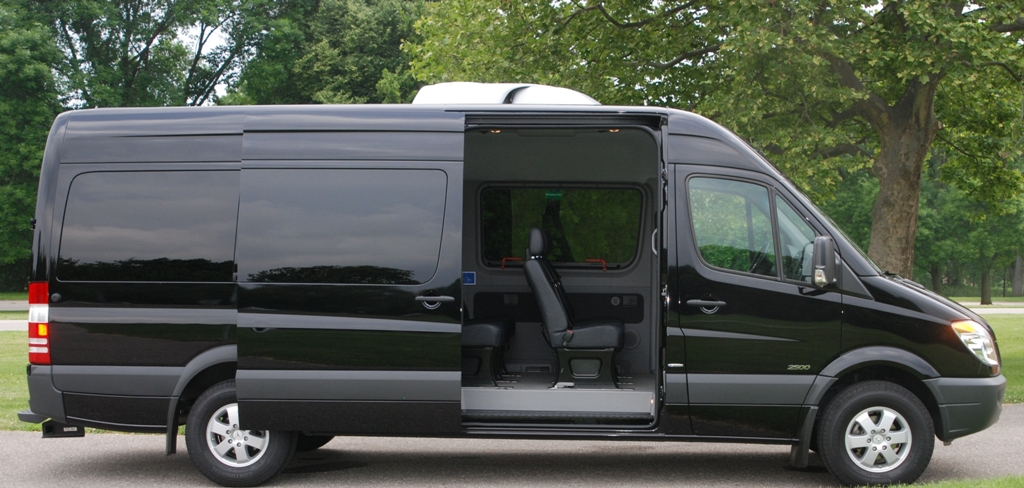 Rent a mercedes sprinter passenger van luxe rv for Mercedes benz sprinter rental price
