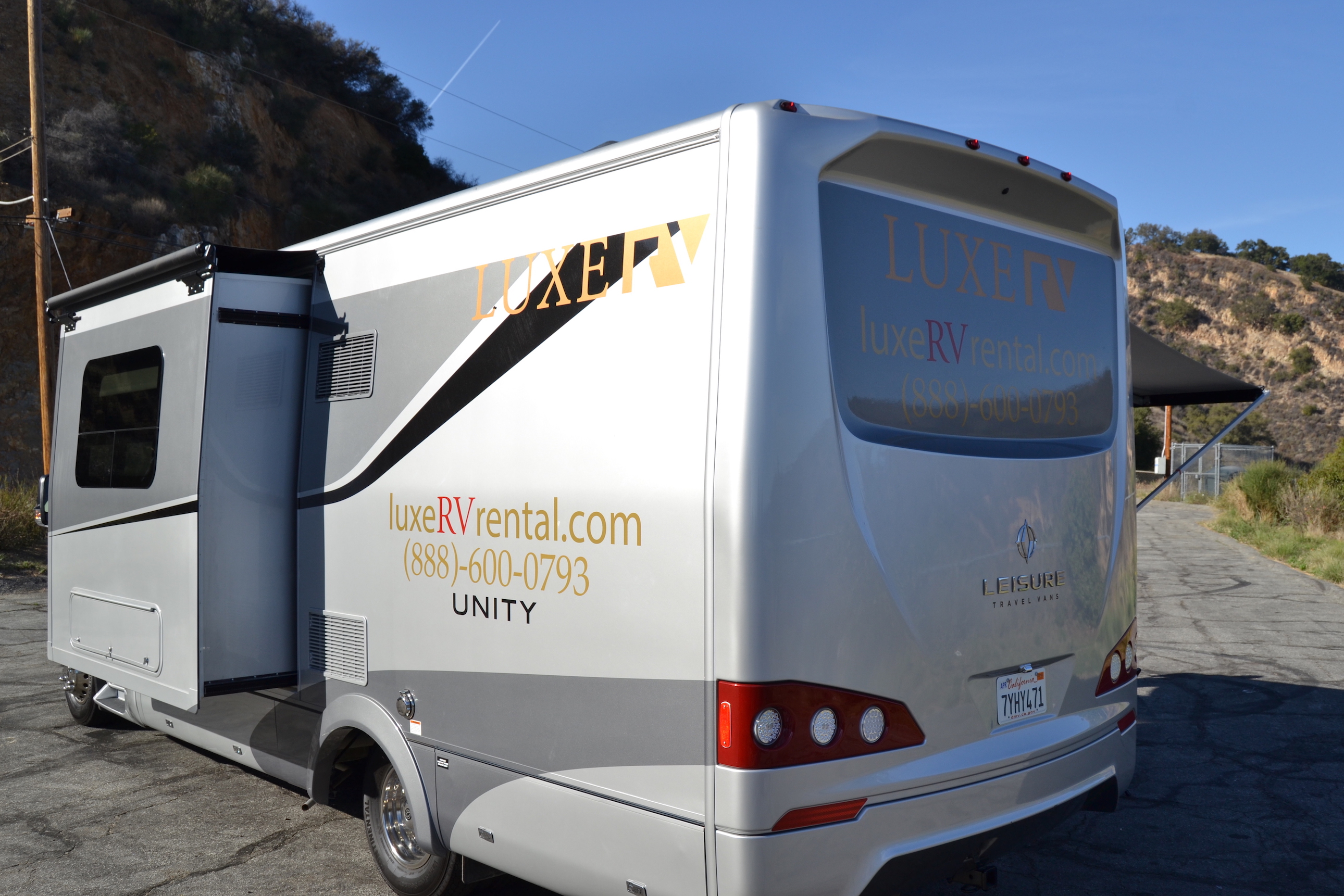 Leisure Travel Vans For Rent >> Mercedes Leisure Unity Rv Luxe Rv
