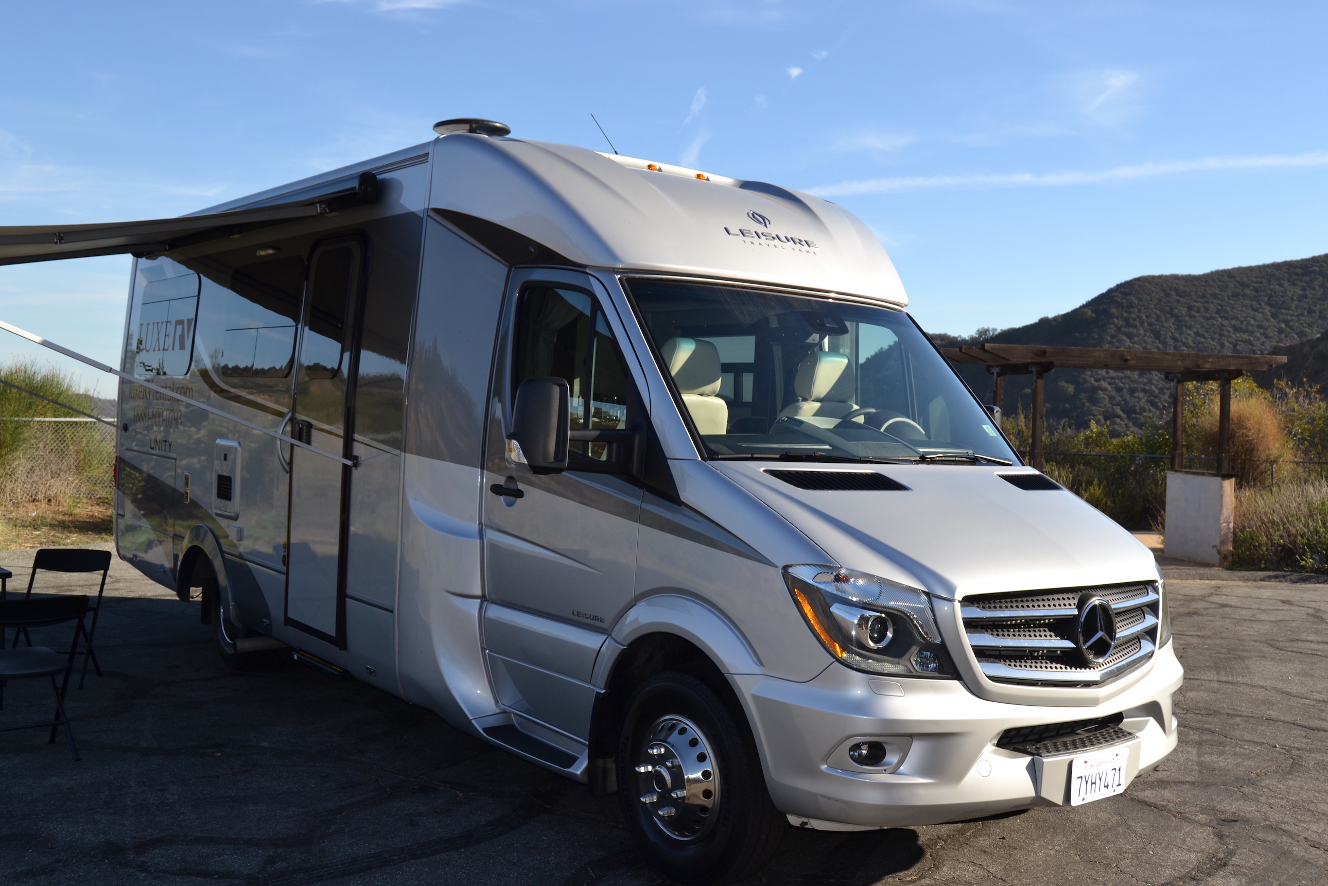 Mercedes leisure unity rv luxe rv for Mercedes benz luxury rv