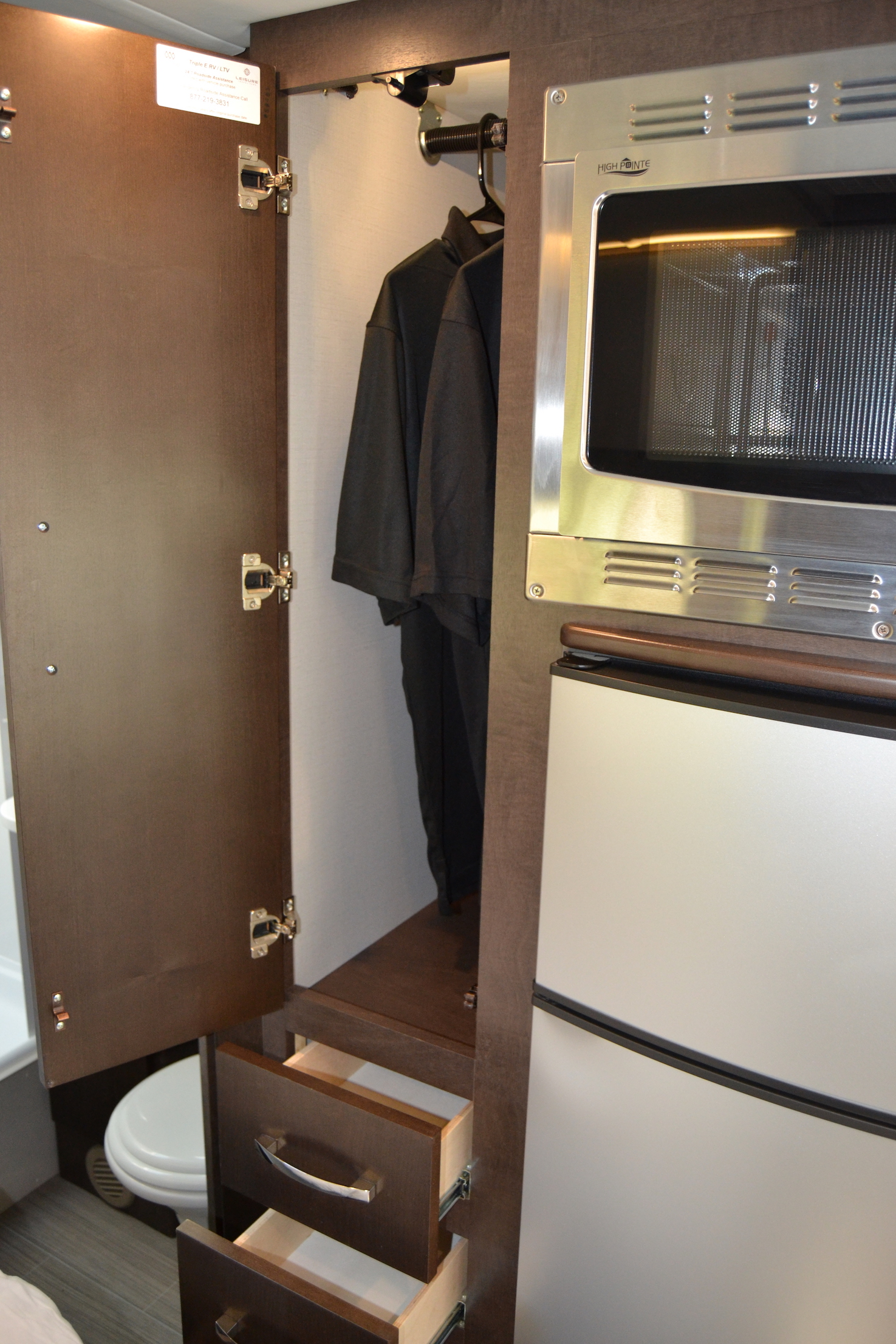 closet leisure unity Luxe RV