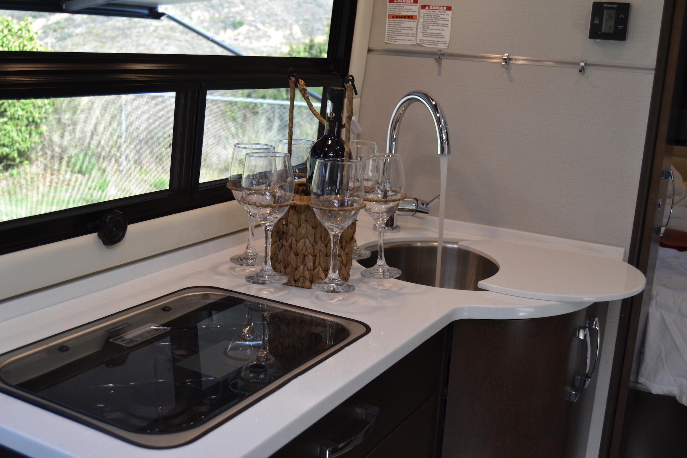 kitchen Leisure Unity Luxe RV
