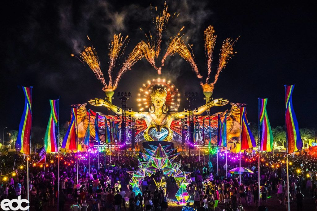 edc electric daisy festival rv rental