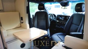 captain chairs luxe rv