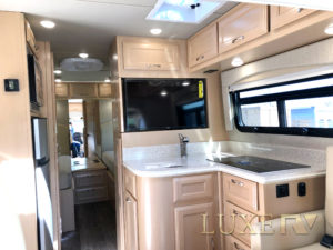 Luxe RV Ultra Kitchen Bedroom