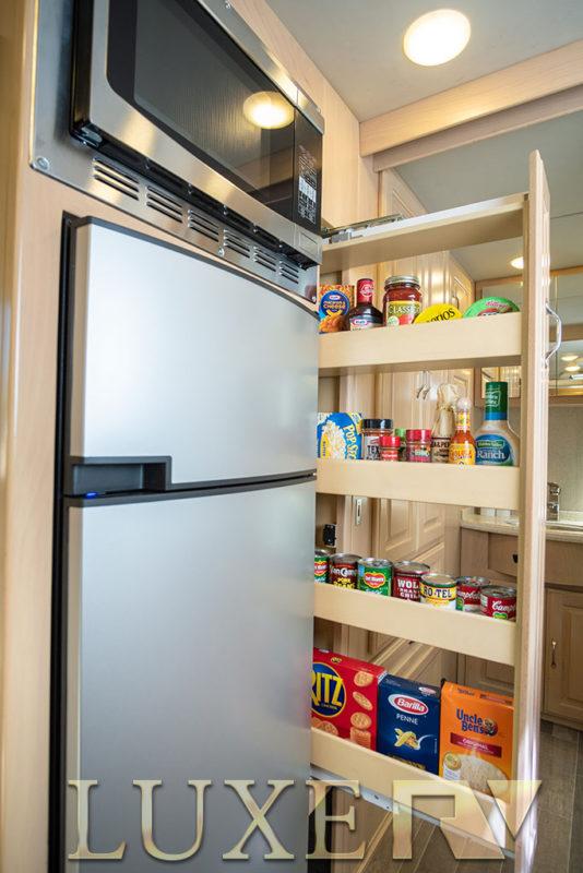 Luxe RV Ultra refrigerator