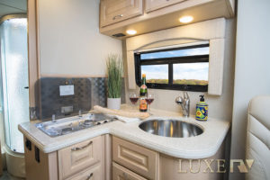 Ultra RV kitchen