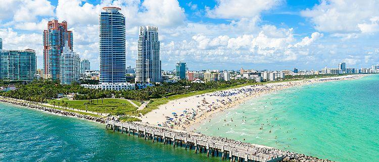 The astonishing coast of Miami