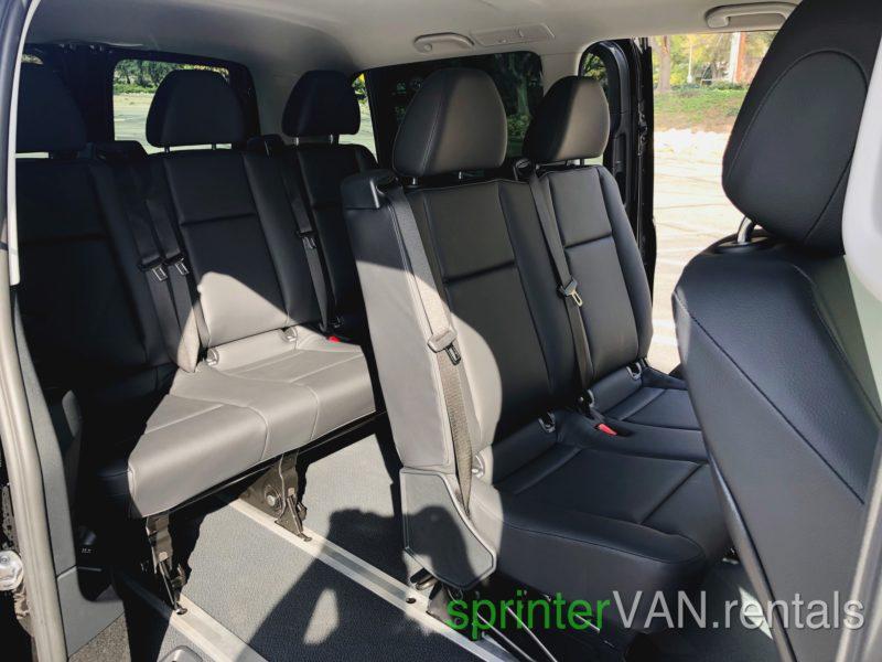LAX Van rental