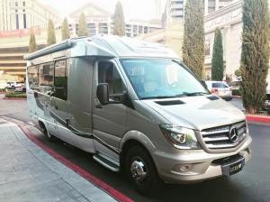 Rent a Mercedes RV in Las Vegas