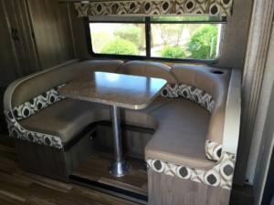 u shape dinning table rv for sale